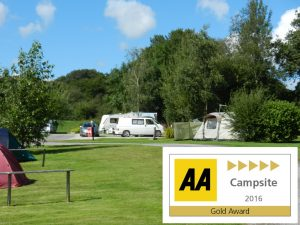 Woodland Springs Touring Park, Dartmoor, Devon, AA 5 Pennant Gold 2016