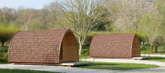 Camping Pods Now At Woodland Springs